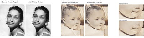 Picture Touch Up Repair of Damaged Photographs