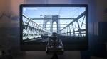 Stop animation bridge picture