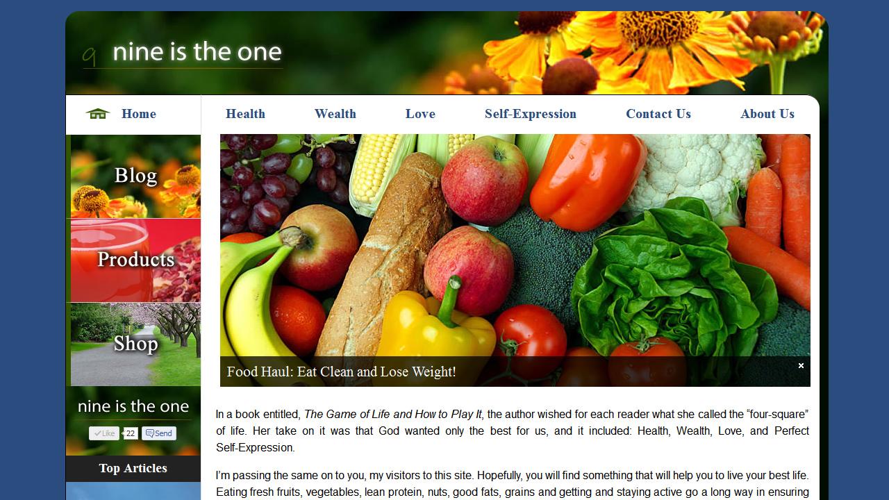 Medium WordPress Website Project Example