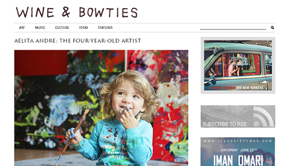 Wine and Bowties Website Redesign Project
