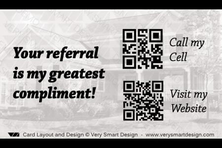 New c21 logo business card for century 21 agents template 12 image real estate agent business card with qr code back design 9 design image via very reheart Images