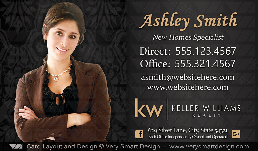Keller williams real estate agent business cards for kw agents 6c black and red keller williams real estate agent business cards for kw agents 6c colourmoves