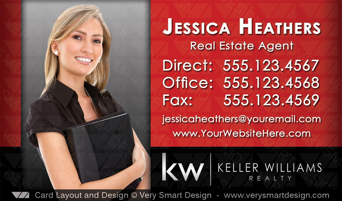 Custom Keller Williams Business Card Design for KW Associates 14B ...