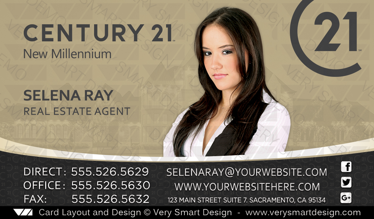 Century 21 real estate business cards template 1c image very century 21 real estate business cards template 1c reheart Image collections