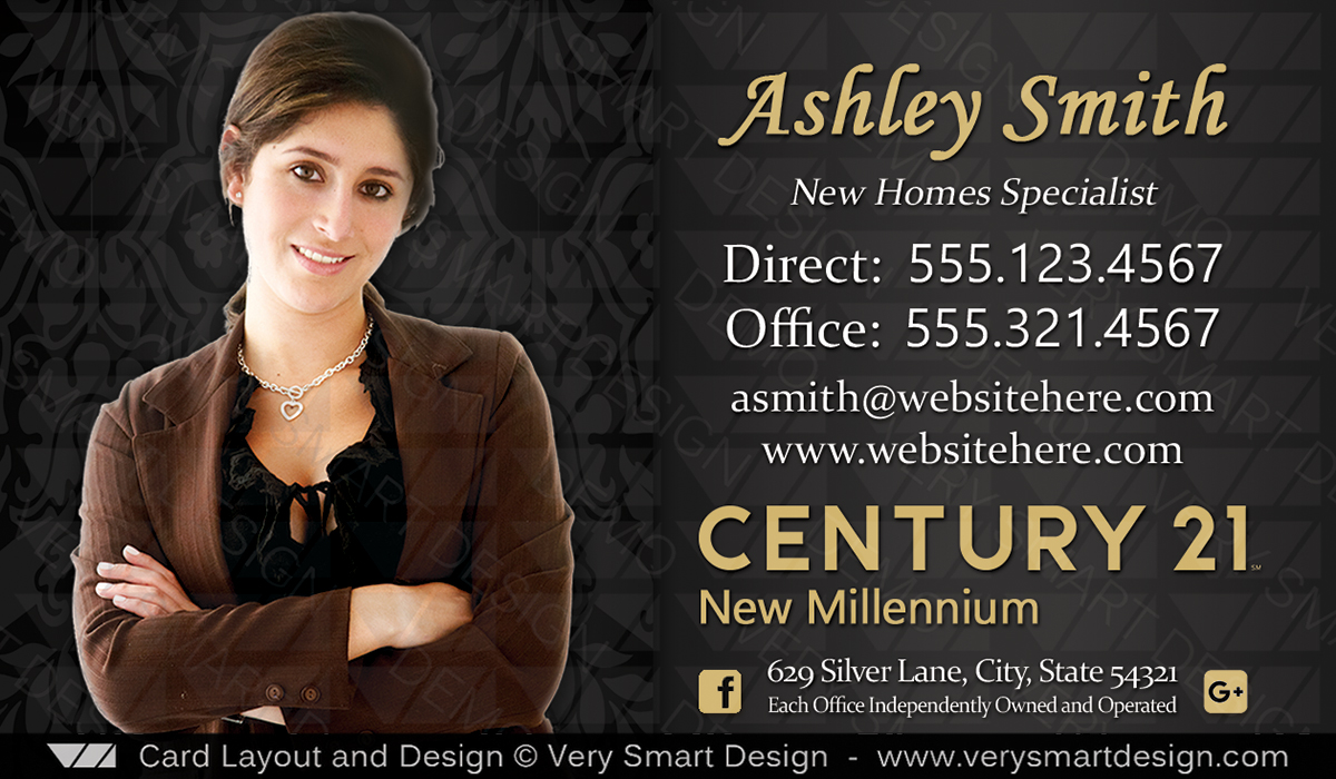 Century 21 business cards for real estate new c21 logo template 6c century 21 business cards for real estate new c21 logo template 6c wajeb Choice Image