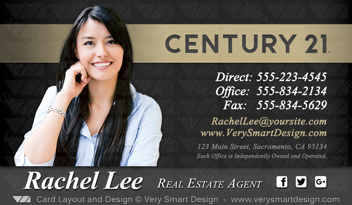 New c21 logo agent real estate business cards century 21 design 8b dark gray and gold new c21 logo agent real estate business cards century 21 design 8b fbccfo Image collections