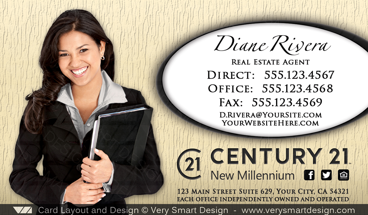 Century 21 Real Estate Business Cards Gallery - Business Card Template