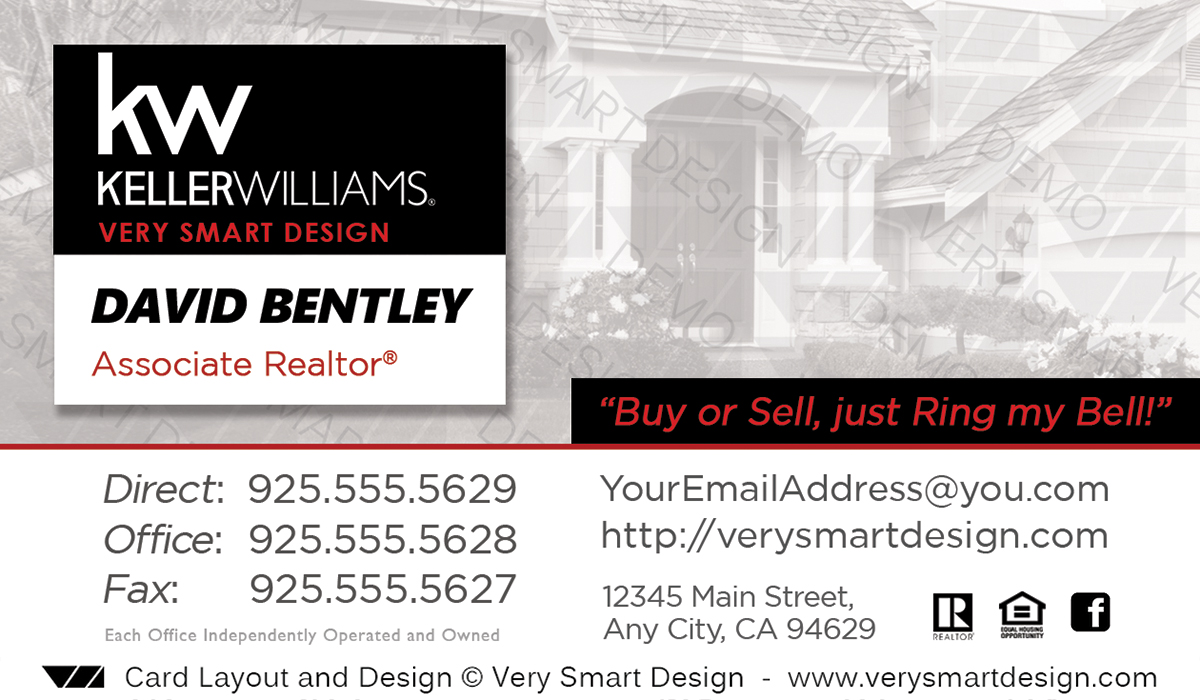 Custom keller williams business card templates for real estate kw white and black custom keller williams business card templates for real estate kw 21b accmission Image collections